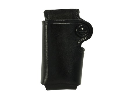 Galco Single Magazine Pouch 380 ACP, Single Stack Magazines Leather Black