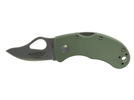 "Blade-Tech Mouse Folding Knife 1.94"" Drop Point AUS 8 Stainless Steel Blade FRN Handle"