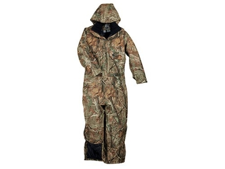 10X Men's Scentrex Coveralls Insulated Waterproof Polyester Realtree AP Camo Medium 38-40