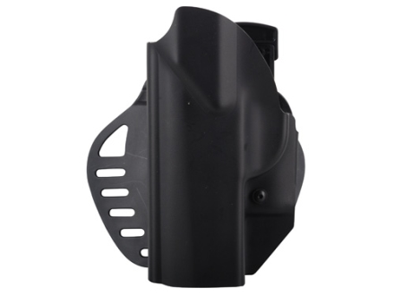 Hogue PowerSpeed Concealed Carry Holster Outside the Waistband (OWB) Beretta PX4 9, 40 Black