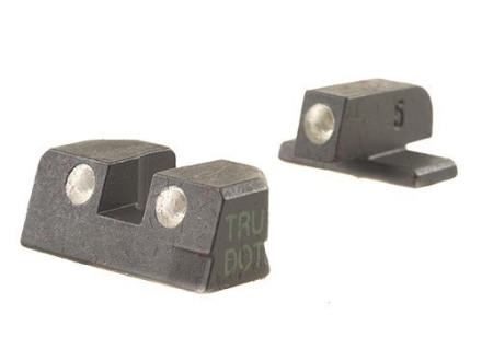 Meprolight Tru-Dot Sight Set Sig P229 Steel Blue Tritium Green Front