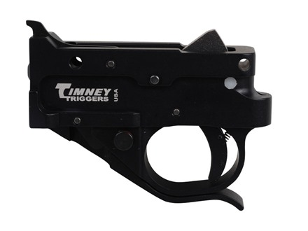 Timney Trigger Guard Assembly Ruger 10/22 2-3/4 lb Aluminum Black