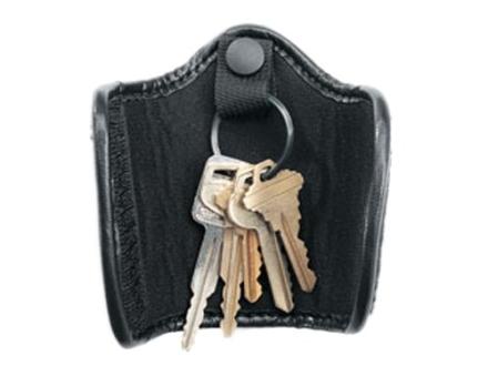 Uncle Mike's Silent Key Ring Holder Mirage Nylon Laminate Black