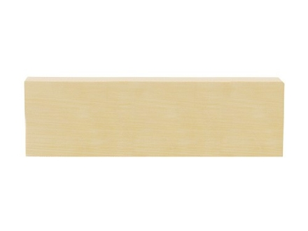 "Tru Ivory Knife Handle Scale Blank 5"" Length 1-1/2"" Width 1/4"" Thick Polymer Ivory Aged"