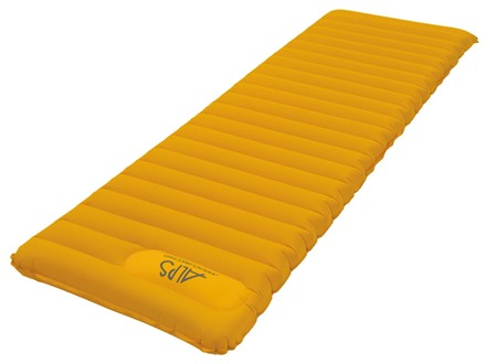 ALPS Mountaineering Featherlite Series Inflatable Air Mattress Nylon Ripstop Yellow