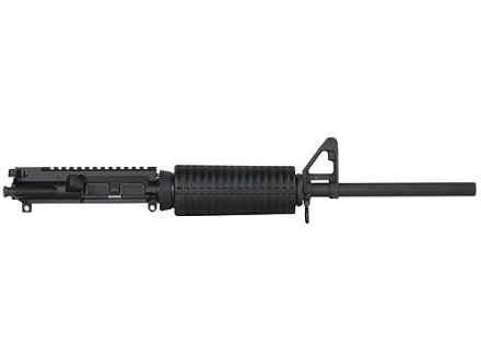 "DPMS AR-15 A3 Flat-Top Upper Assembly 5.56x45mm NATO 1 in 9"" Twist 16"" Barrel Chrome Moly Matte with GlacierGuard Handguard, A2 Front Sight"