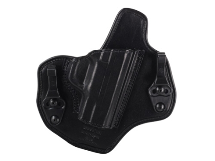Bianchi Allusion Series 135 Suppression Tuckable Inside the Waistband Holster Right Hand Smith & Wesson M&P 9mm, 40 S&W Leather Black