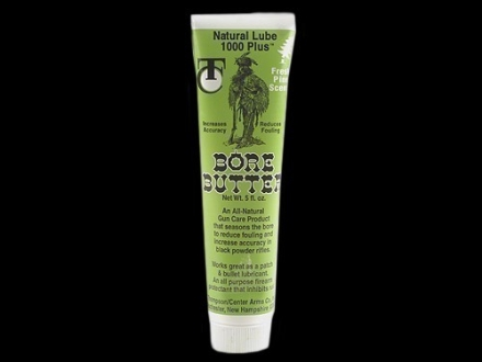Thompson Center Natural Lube 1000 Plus Bore Butter Pine Scent 5 oz Tube