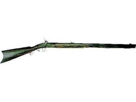 "Lyman Great Plains Black Powder Rifle 50 Caliber Percussion Wood Stock 1 in 60"" Twist 32"" Barrel Blue Left Hand"