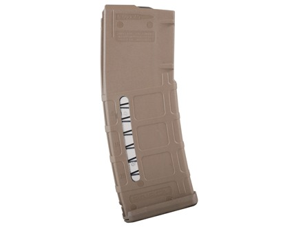 Magpul Maglevel PMAG Magazine AR-15 223 Remington 30-Round Polymer Flat Dark Earth