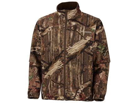 Columbia Sportswear Men's Wind Stalker Omni-Heat Jacket Polyester Mossy Oak Break-Up Infinity Camo Large 42-45