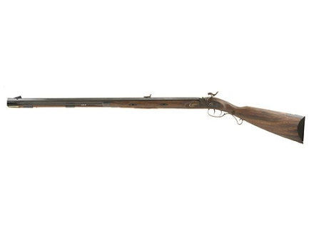 "Lyman Great Plains Black Powder Rifle 54 Caliber Percussion Wood Stock 1 in 60"" Twist 32"" Barrel Blue Left Hand"