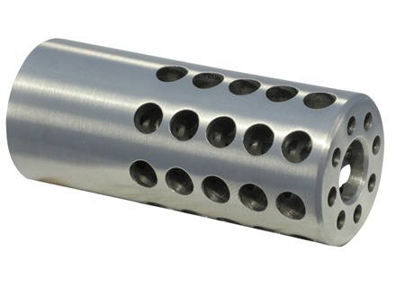 "Vais Muzzle Brake Micro 270 Caliber 1/2""-32 Thread .750"" Outside Diameter x 1.750"" Length Stainless Steel"