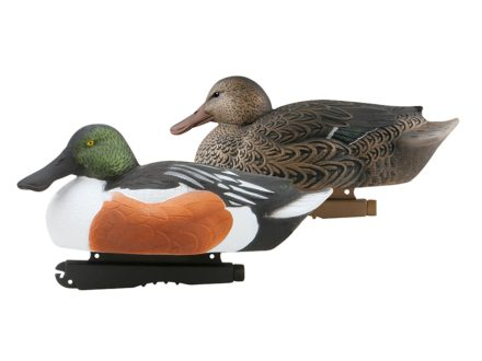 GHG Oversize Weighted Keel Northern Shoveler Duck Decoys Pack of 6