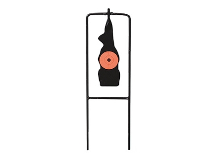 Birchwood Casey 22 Rimfire 1/5 Scale Prairie Dog Silhouette Swinging Target Steel Black