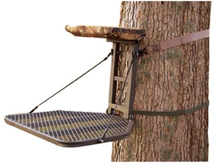 Summit Stoop ECS Hang On Treestand Steel Realtree AP Camo