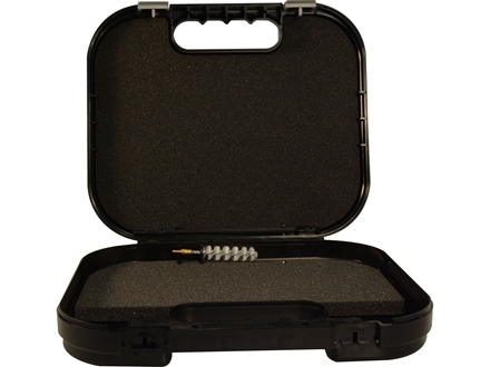 "Glock Locking Security Pistol Gun Case 10-1/2"" x 9"" x 2-1/2"" Polymer Black"