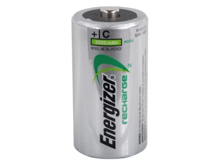 Energizer Battery C Rechargeable Pack of 2