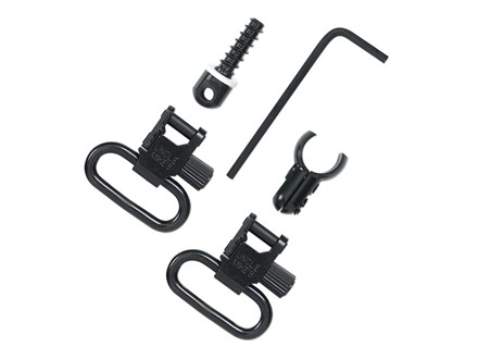 "Uncle Mike's Quick Detachable Sling Swivel Set Marlin 357 Magnum 1894C Carbine, Magazine Tube with .540""-.590"" Diameter 1"" Black"