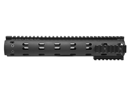 Daniel Defense MFR 12.0 Free Float Tube Handguard Customizable Modular Rail AR-15 Rifle Length Aluminum Black