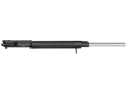 "DPMS AR-15 A3 Flat-Top Upper Assembly 223 Remington 1 in 9"" Twist 24"" Bull Barrel Stainless Steel with Free Float Handguard"