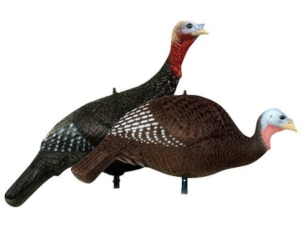 Delta Hen and Jake Set Turkey Decoy Polymer