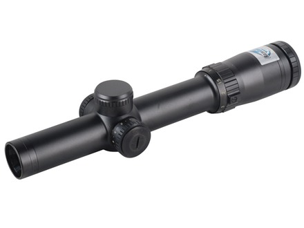 Bushnell Elite Tactical Rifle Scope 30mm Tube 1-6.5x 24mm 1/10 MIL Adjustments First Focal Illuminated BTR-2 Reticle Matte