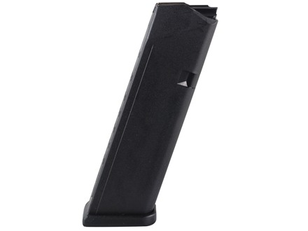 Glock Magazine Gen 4 Glock 17, 34 9mm Luger Polymer Black