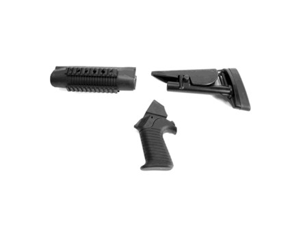 ProMag Collapsible Stock & Tactical Forend Benelli M4 Polymer Black