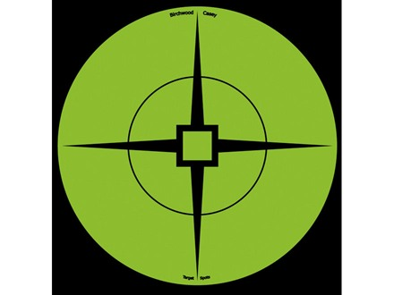 "Birchwood Casey Target Spots 6"" Atomic Green Package of 10"