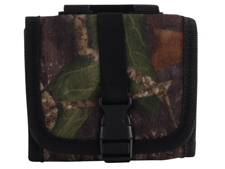 Allen Ammo Pouch Belt Slide Folding Rifle Ammunition Carrier 14-Round Nylon Advantage Timber Camo
