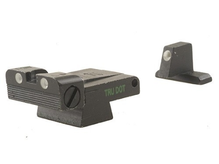 Meprolight Tru-Dot Adjustable Sight Set HK USP Full Size, Tactical, Expert Steel Blue Tritium Green