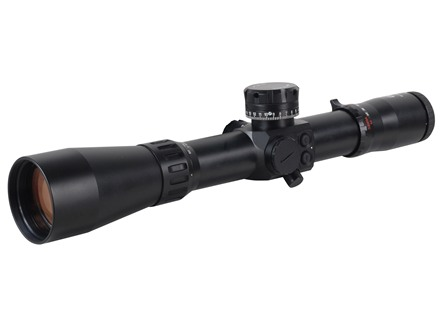 Valdada IOR Terminator Multi-BDC Rifle Scope 40mm Tube 12-52x 56mm Middle Focus Illuminated MP-8 Xtreme Reticle Matte with Low Picatinny-Style Rings