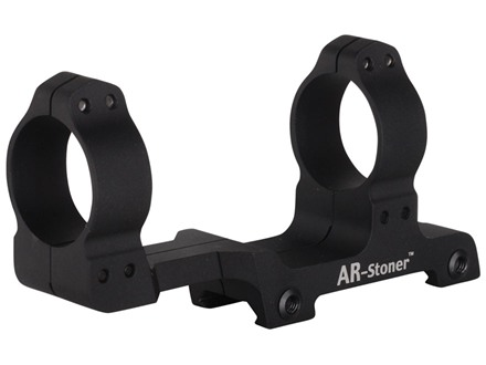 AR-Stoner 1-Piece Extended Scope Mount Picatinny-Style with Integral 30mm Rings Flat-Top AR-15 Matte