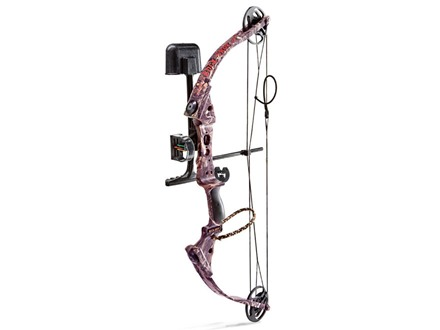 "Parker BuckShot Extreme Compound Bow Package Right Hand 15-29 lb. 17""-26"" Draw Length Pink Next G1 Camo"