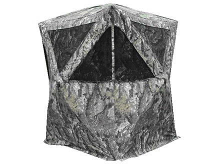 "Primos The Club XXL Ground Blind 58"" x 58"" x 77"" Polyester Ground Swat Grey Camo"
