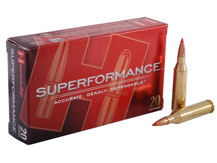 Hornady SUPERFORMANCE Ammunition 243 Winchester 95 Grain SST Box of 20
