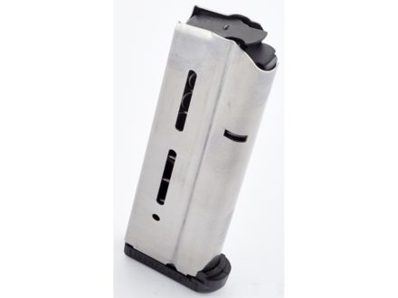 Wilson Combat Magazine with Base Pad 1911 Government, Commander 10mm Auto 9-Round Stainless Steel