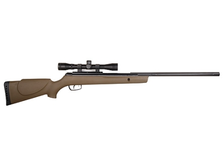 Gamo Rocket Air Rifle 177 Caliber Olive Drab Synthetic Stock Blue Barrel with Gamo Airgun Scope 4x 32mm Matte