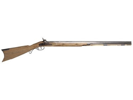 "Lyman Great Plains Black Powder Rifle Unassembled Kit 50 Caliber Percussion 1 in 60"" Twist 32"" Barrel in The White"