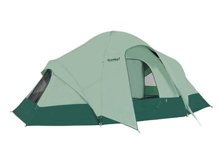 "Eureka Tetragon 1610 9 Man Dome Tent 192"" x 120"" x 76"" Polyester Green"