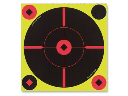 "Birchwood Casey Shoot-N-C 8"" BMW Bullseye Targets Package 6"
