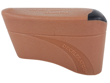 "Pachmayr Decelerator Recoil Pad Slip-On fits 5"" to 5-3/16"" High x 1-5/8"" Wide x 3/4"" Thick Rubber Brown Medium"