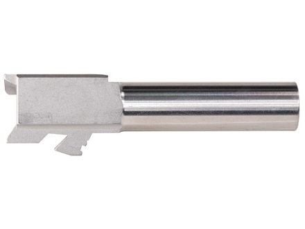 "Lone Wolf Conversion Barrel Glock 27 40 S&W to 9mm Luger 1 in 16"" Twist 3.46"" Stainless Steel"