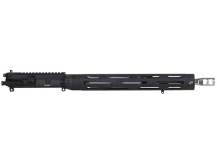 "JP Enterprises AR-15 Upper Assembly 223 Remington 1 in 8"" Twist 16"" Lightweight Barrel 15"" Free Float Handguard, Low Profile Adjustable Gas Block, JP Compensator, Light Mass Bolt Carrier"