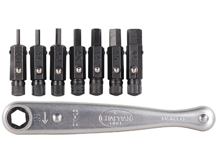 Chapman Model 2307 8-Piece Metric Hex Bit Set