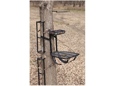 Big Game The Boss Lite Packable Combo Hang On Treestand Steel Black