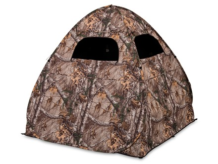 "Ameristep Gunner Ground Blind 54"" x 56"" x 57"" Polyester Ameristep Realtree Xtra Camo"