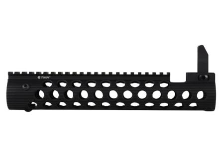 Troy Industries Alpha Battle Rail Modular Free Float Handguard with Integral Flip-Up Front Sight AR-15
