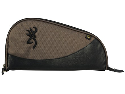 "Browning Fortress Pistol Case 13"" Canvas Brown"
